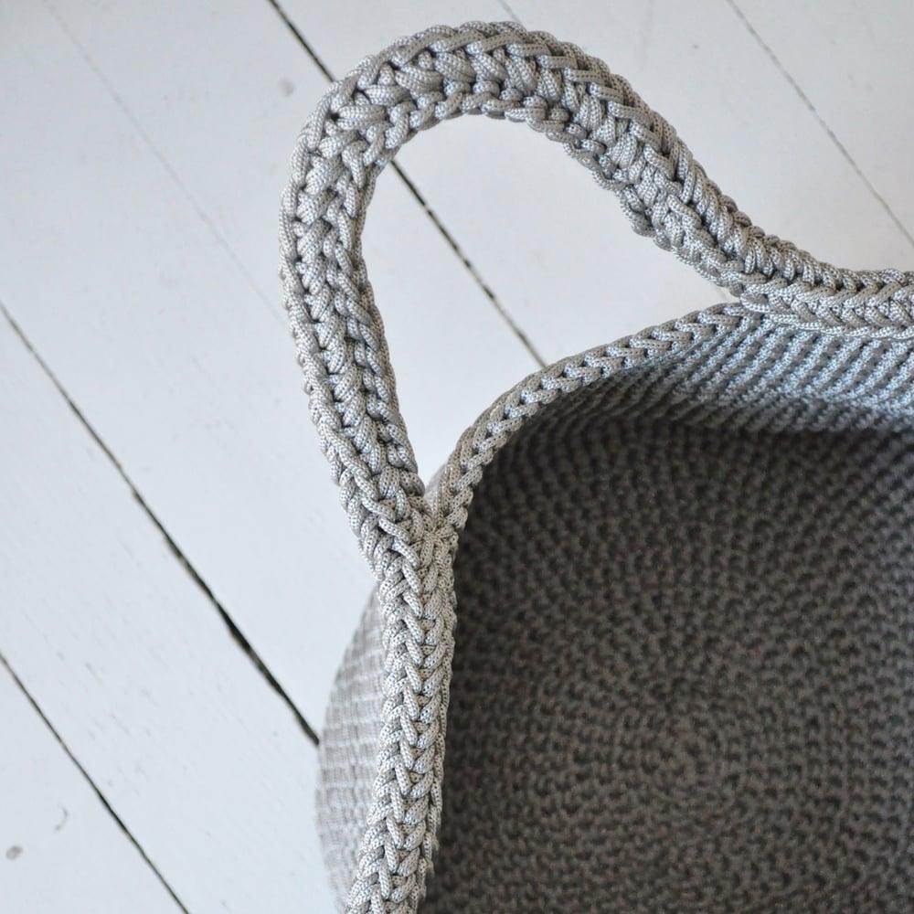 Image of Panier crochet en fil de nylon • BRADERIE •