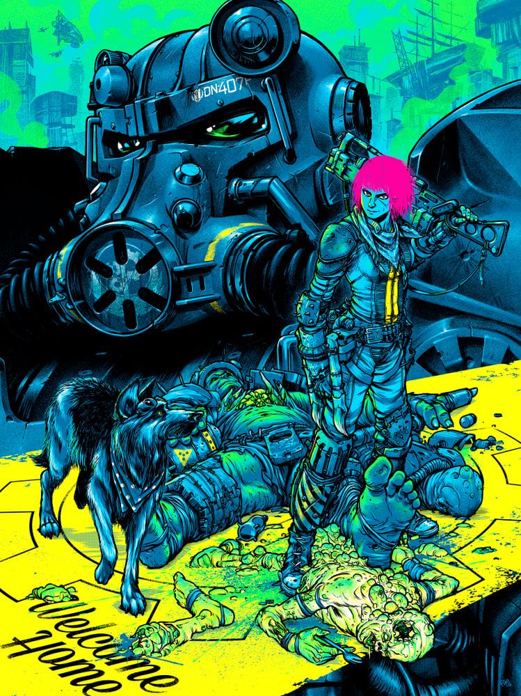 Image of Fallout 4 - screen print