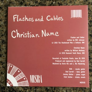"Image of Christian Name 7"" single"