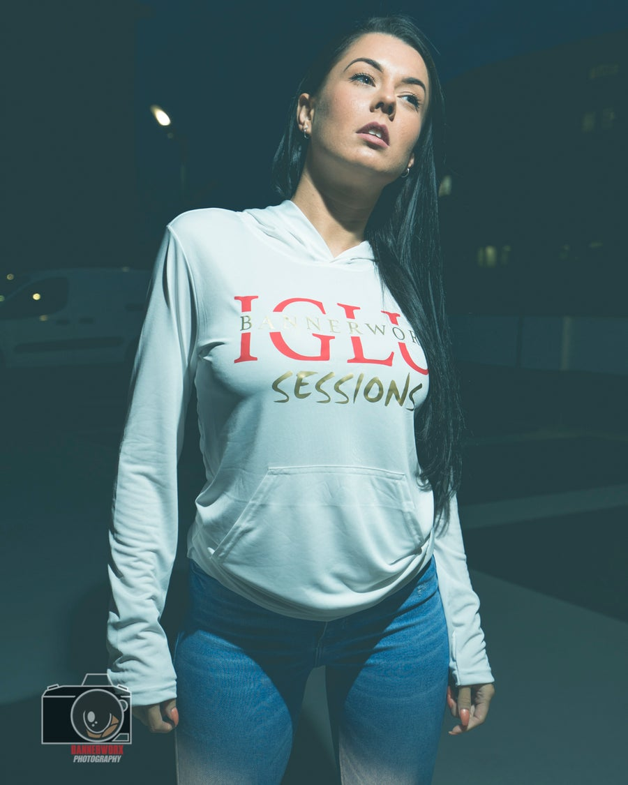 Image of IGLU Sessions Active Hoodie White