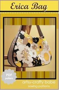 Image of The Erica Bag PDF sewing pattern
