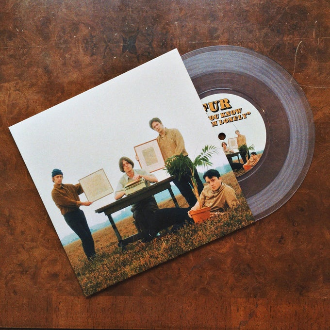 Image of 'If You Know That I'm Lonely'/'What Would I Do?' Clear Vinyl