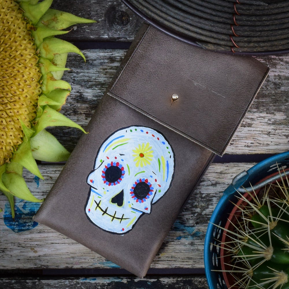 Image of Sugar Skull Pouch