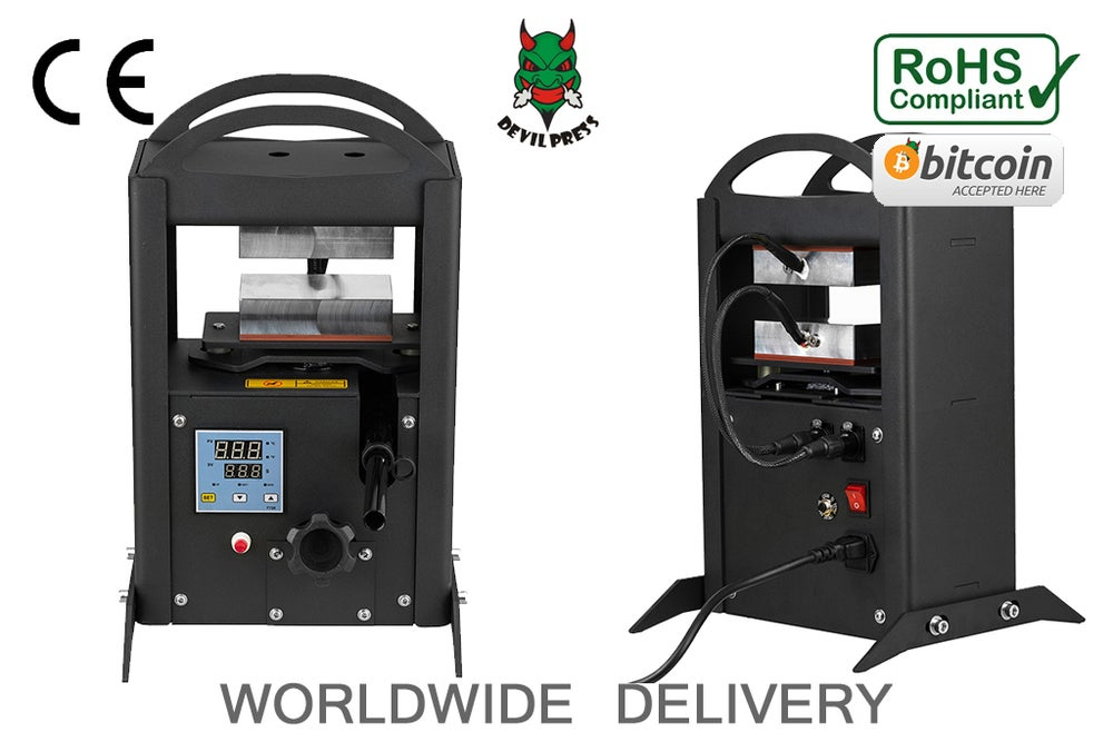 Image of DEVIL PRESS™ S13 Smasher  Rosin Press Machine