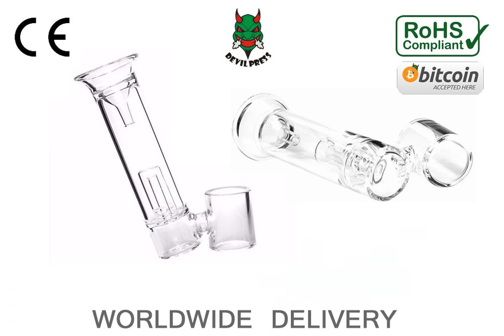 Image of Devil-Dab™ Pyrex Glass Mouthpiece for Dr Dabber Boost And Portable Enail set