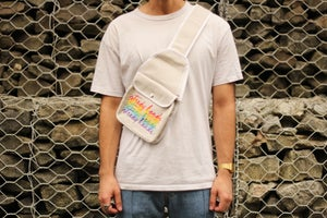 Image of Stacked Logo Sling Bag