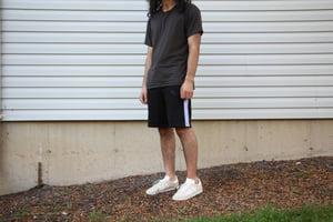 Image of Black Rainbow Sweat Shorts