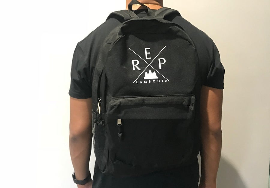Image of X Backpack (Embroidered Design)