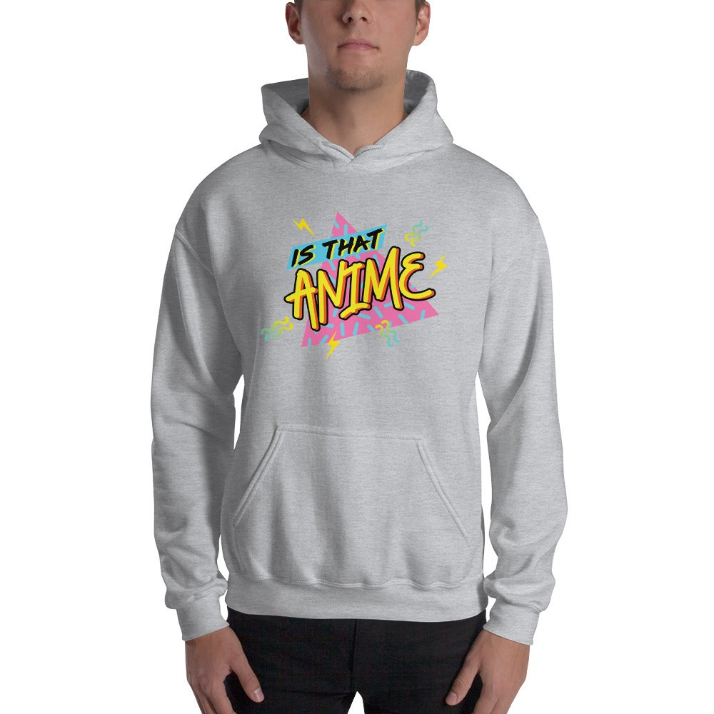 Image of Is That Anime Hoodie (Grey)
