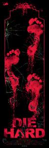 Image of DIE HARD - holo foil art print