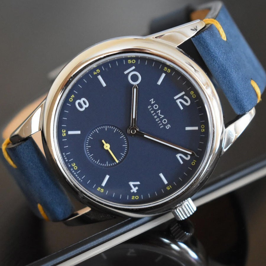 Image of Timeless Blue Nubuck