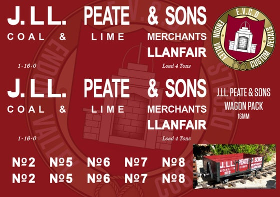 Image of J. LL. Peate & Sons Wagon Pack
