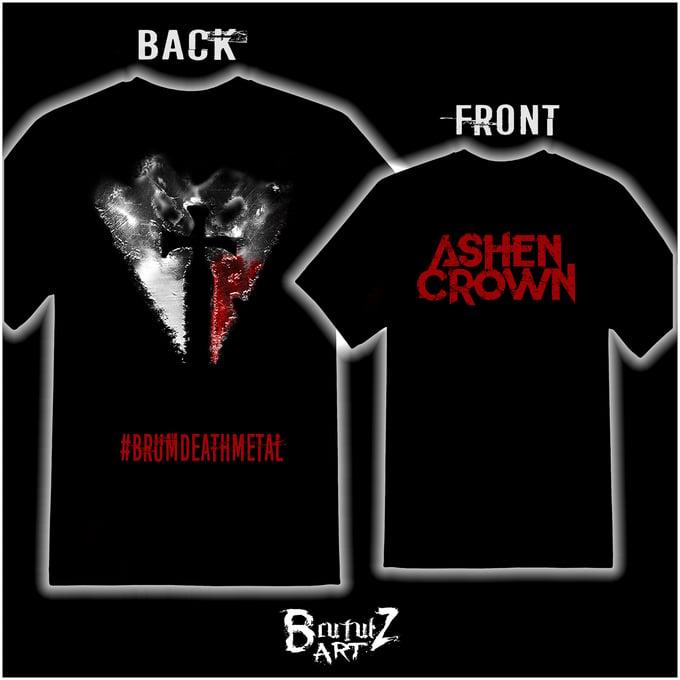 Image of Brum Death Metal Logo Shirt.
