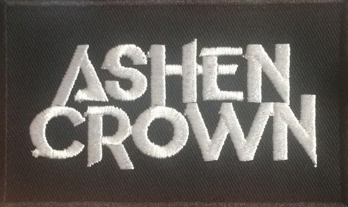 Image of Ashen Crown Woven Patch