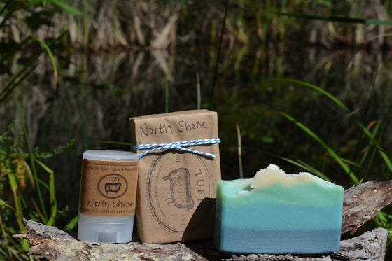 Image of NEW!!  North Shore Charity Project - Bath Bar, Lanolin Wool Wash and Lanolin Rich hand balm