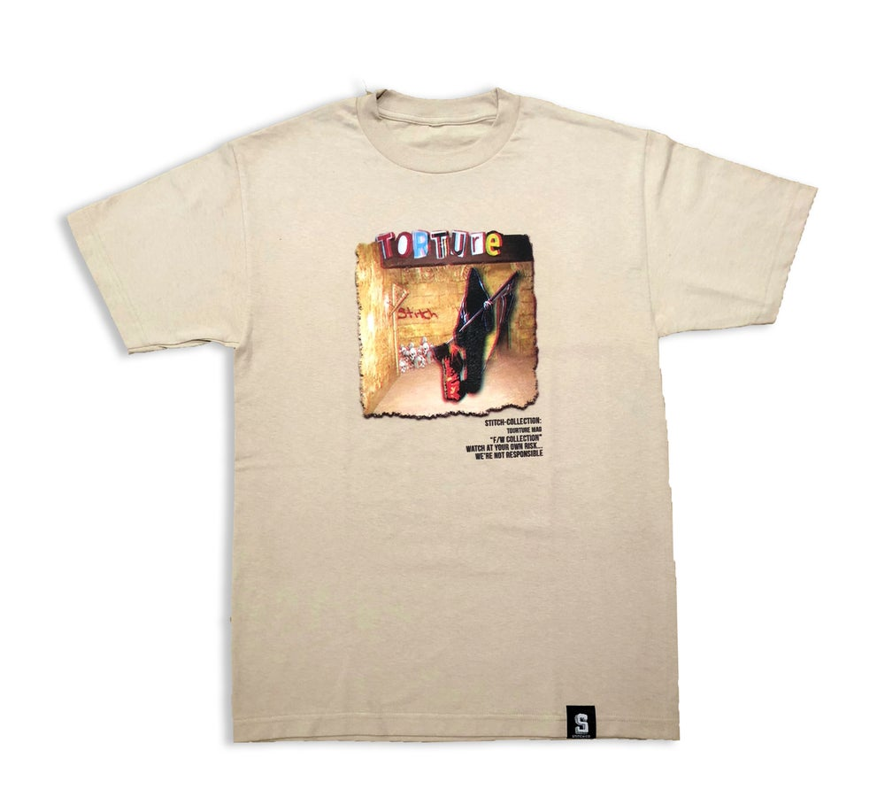Image of TORTURE x 5titch tee