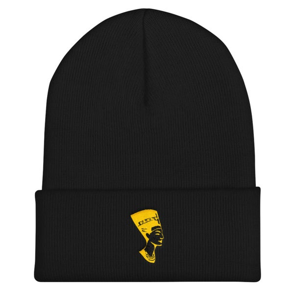 Image of Nefertiti (Black Beanie)