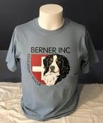 Image of BERNER Inc Berner w/Swiss Cross Unisex T-shirt