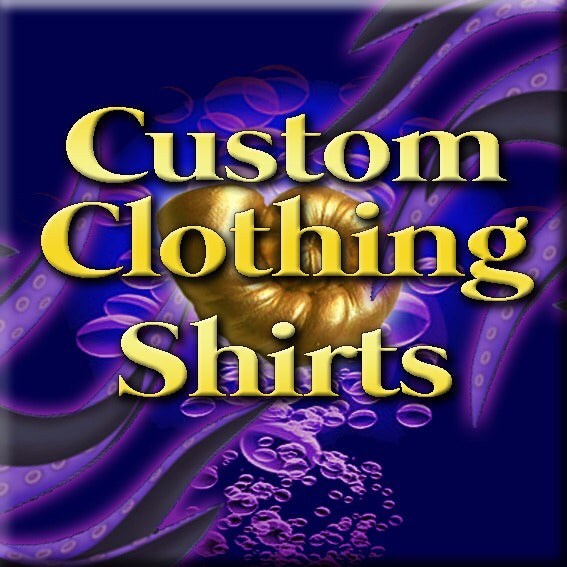 Image of Custom Clothing - Hawaiian style shirt