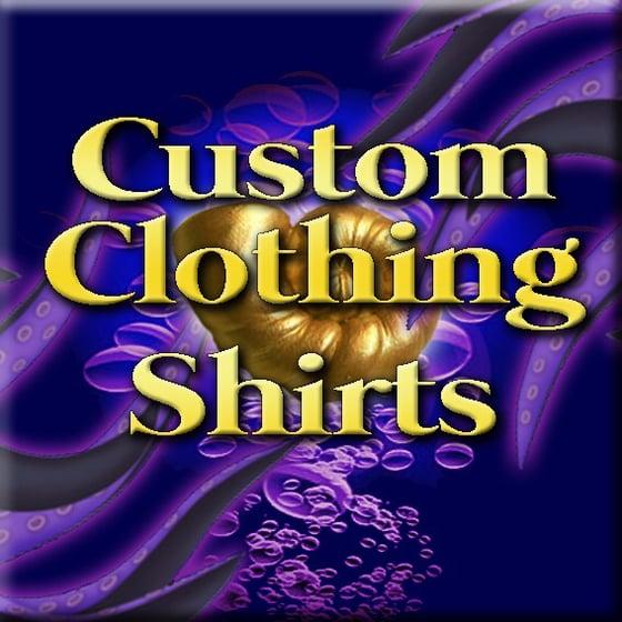Image of Custom Clothing - Hawaiian style shirt