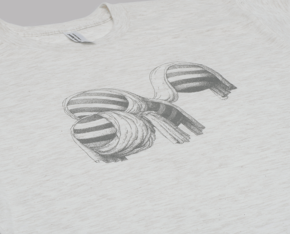 Image of microCastle 'Pluto' T-Shirt Oatmeal