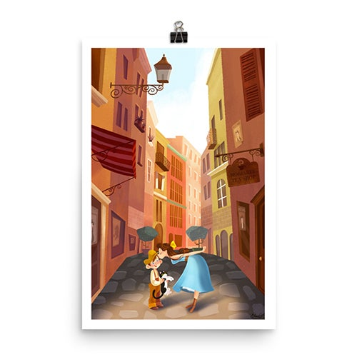 Image of Street Alley Print
