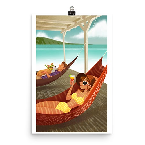 Image of Vacation Print