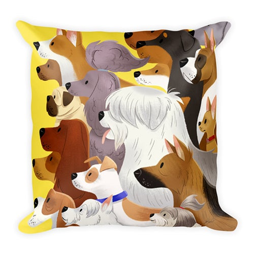 Image of Dog Pack pillow