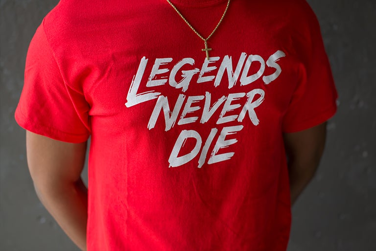 Image of Legends Never Die - Japan
