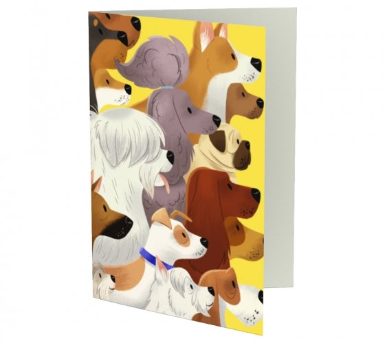 Image of Dog Pack Greeting Cards (Set of 3)