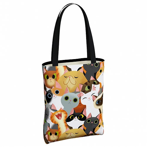 Image of Cat Crowd Tote Bag