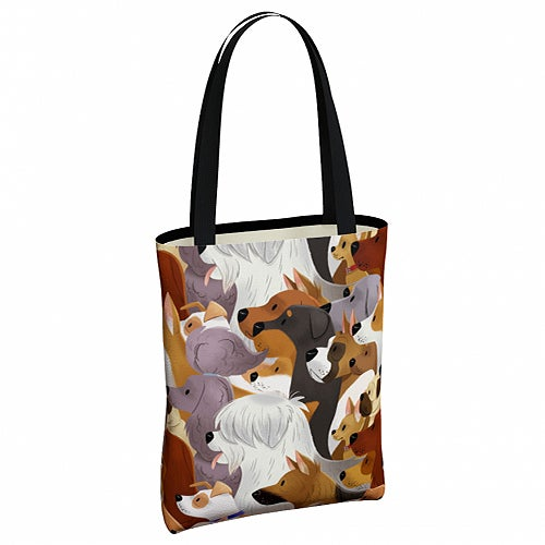 Image of Dog Pack Tote Bag