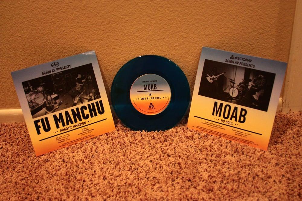 "Image of Fu Manchu / Moab Split 7"" vinyl"