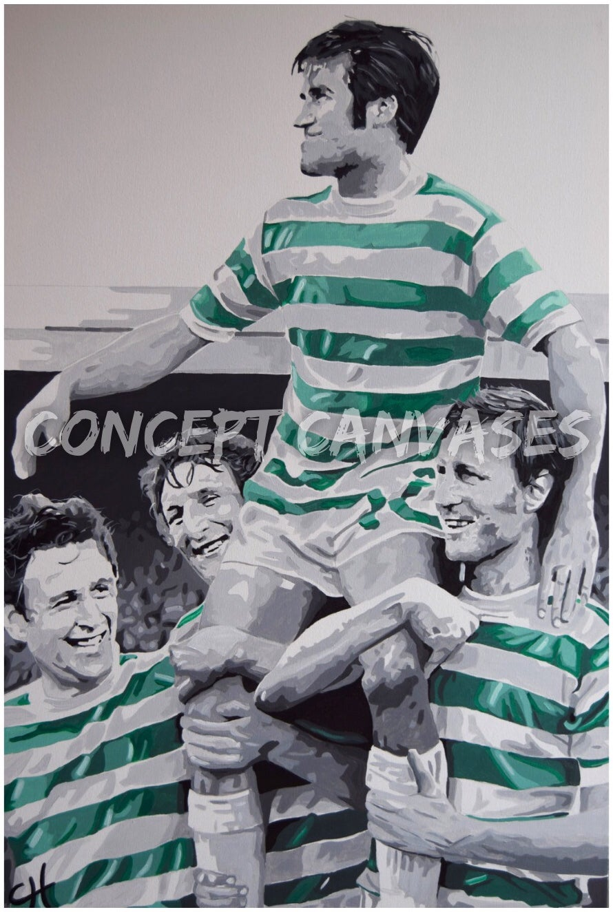 Image of Bertie Auld 'Back In The Day' A3 Print