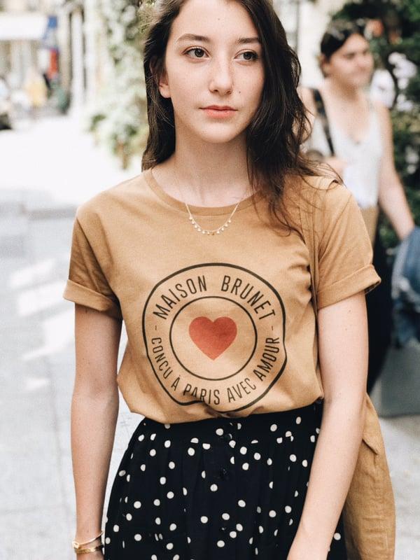 Tee Shirt Maison Ocre - Maison Brunet Paris