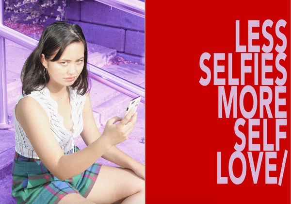 Image of STICKER: LESS SELFIES MORE SELFLOVE