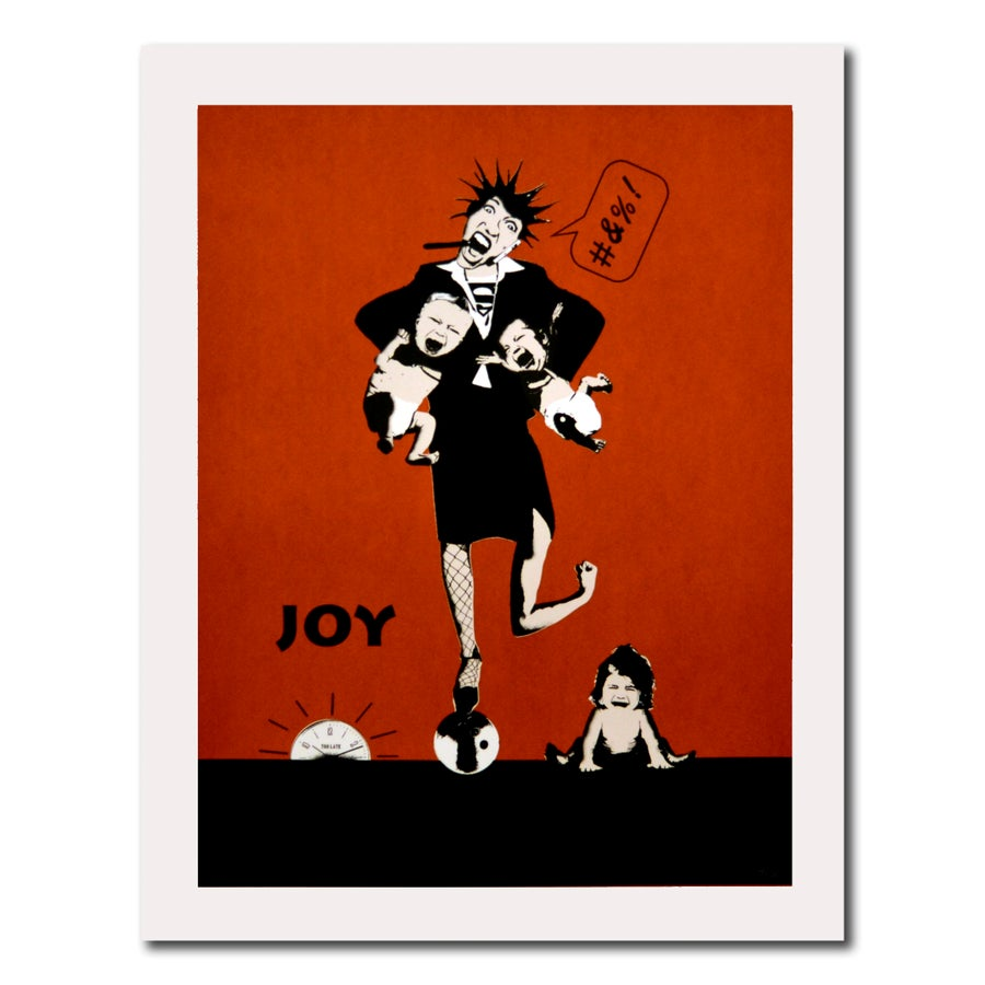 Image of JOY - Tidzklemma (rød)