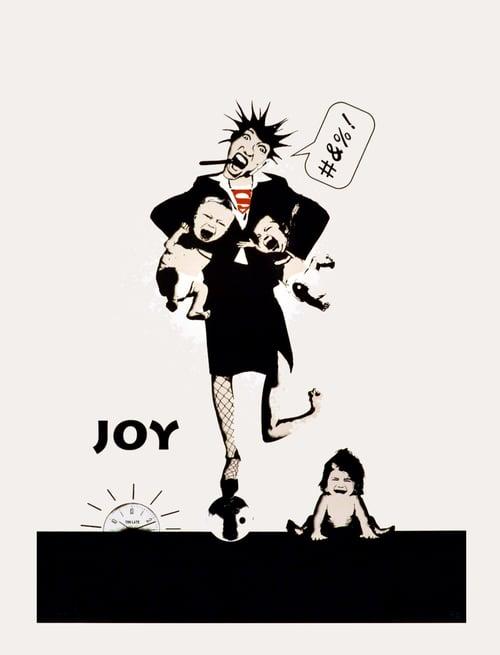 Image of JOY - Tidzklemma (Hvit)