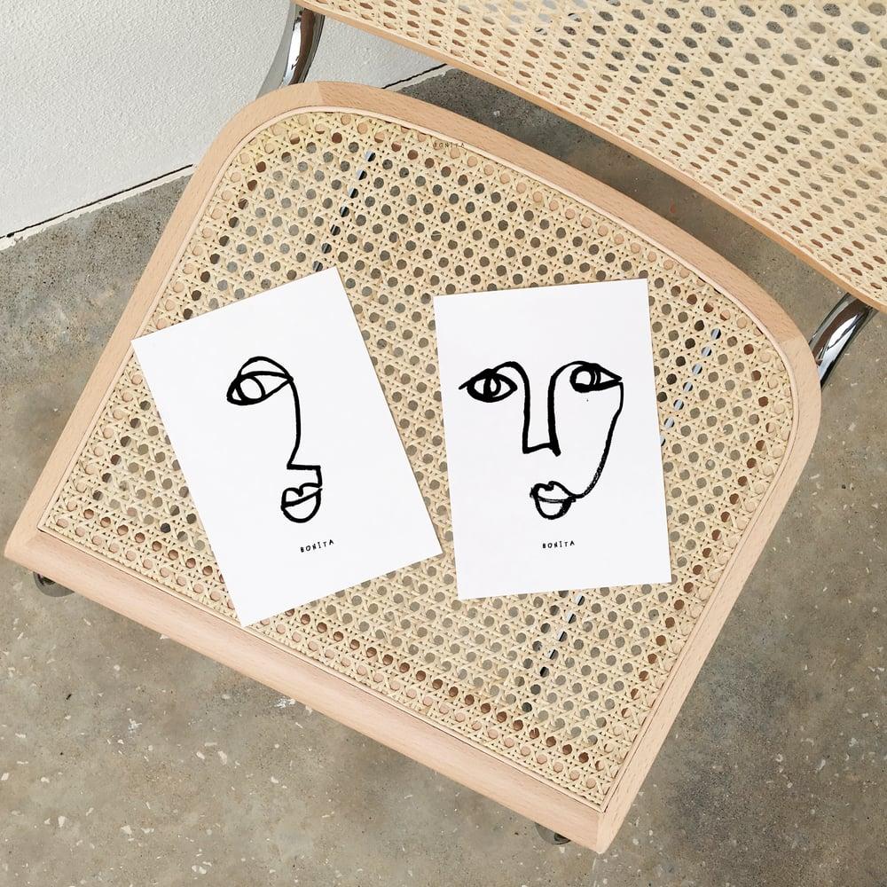 Image of ART PRINTS & TSHIRT BONITA
