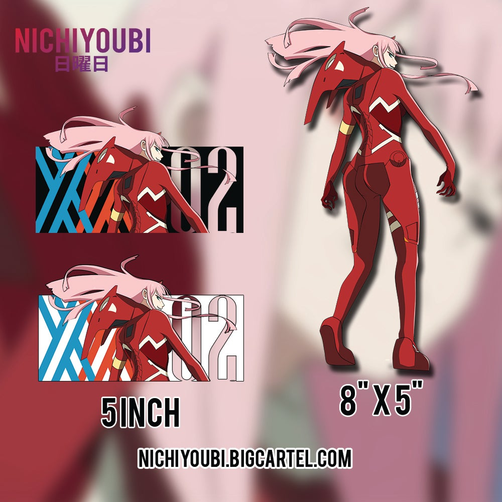 Image of [Darling In The Franxx] Zero Two Collections pt 2