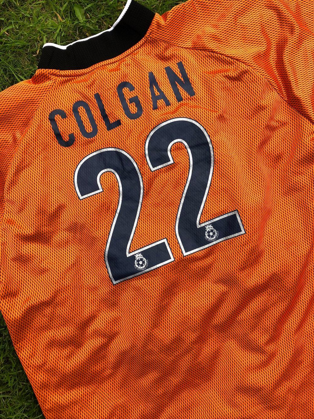 Match worn 2003/04 Nick Colgan goalkeeper shirt