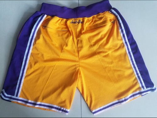 "Image of Lakers ""Just Don"" shorts"