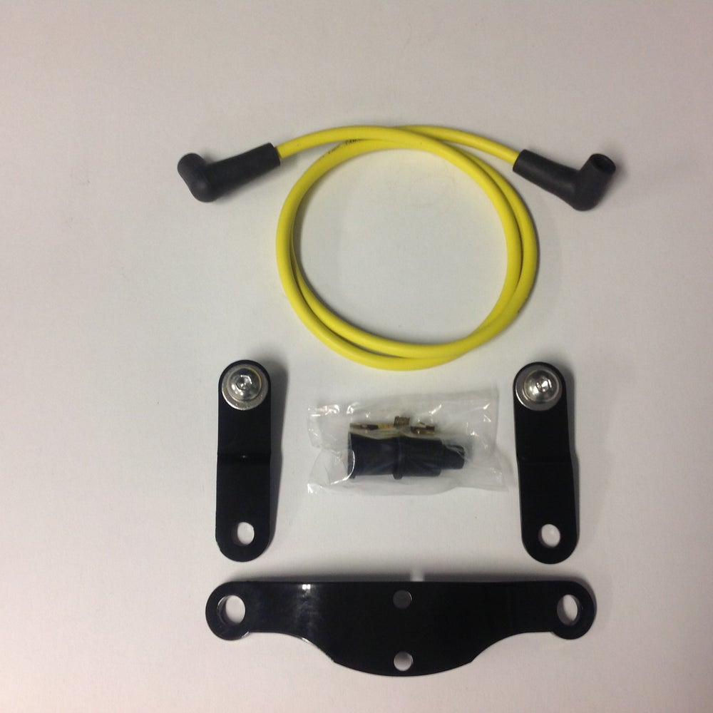 Image of Kit for Coil Relocation & Gas Tank Lift (for 2007+ HD XL / Sportster)