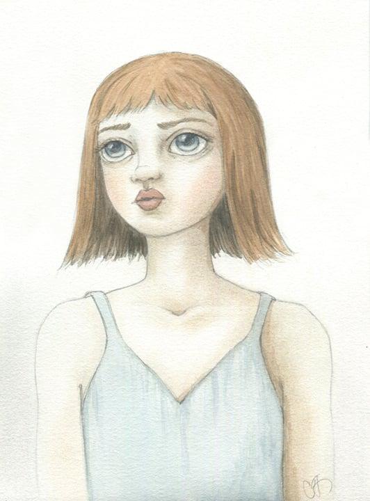 Image of Original Artwork: Your choice: unframed original