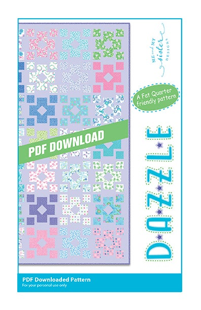 Image of Dazzle PDF pattern
