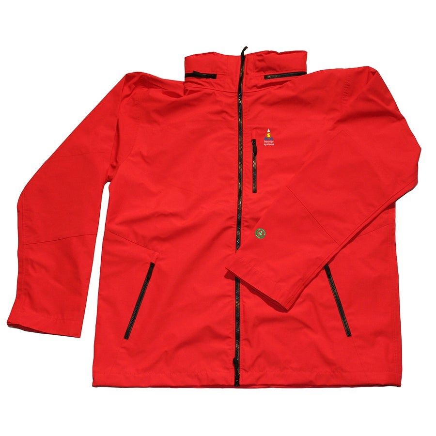 Image of Antero 5 New ! Zip in Hood to Collar Red Neoshell Jacket Made in Colorado USA