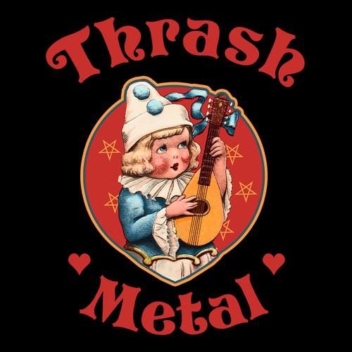 Image of Cute Cult - Thrash Metal (Black)
