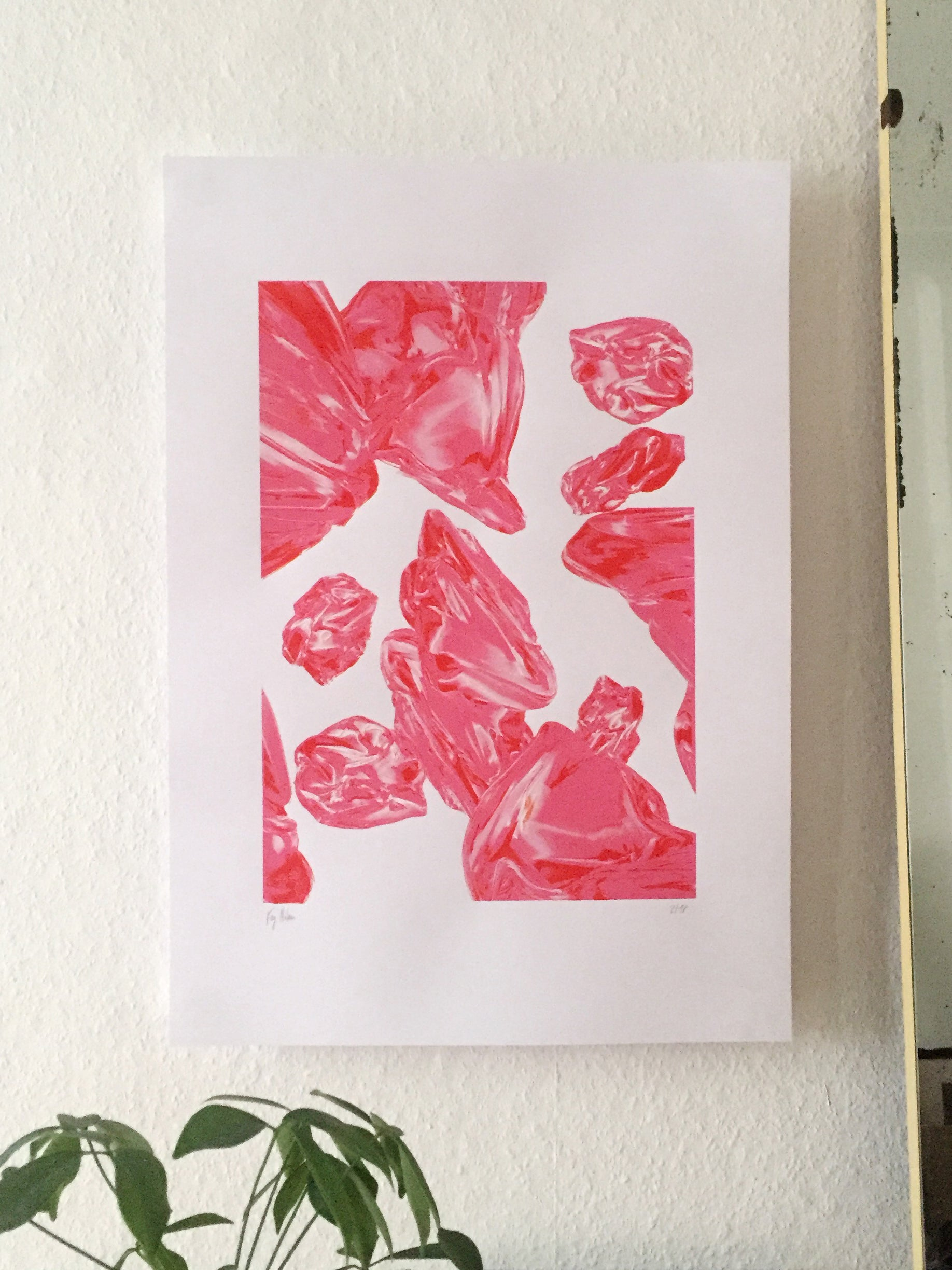 Image of Silkscreen Print Objects