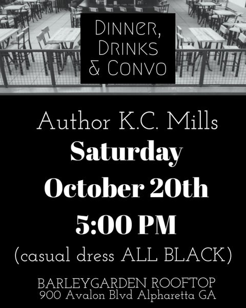 Image of Meet & Greet with Author KC Mills