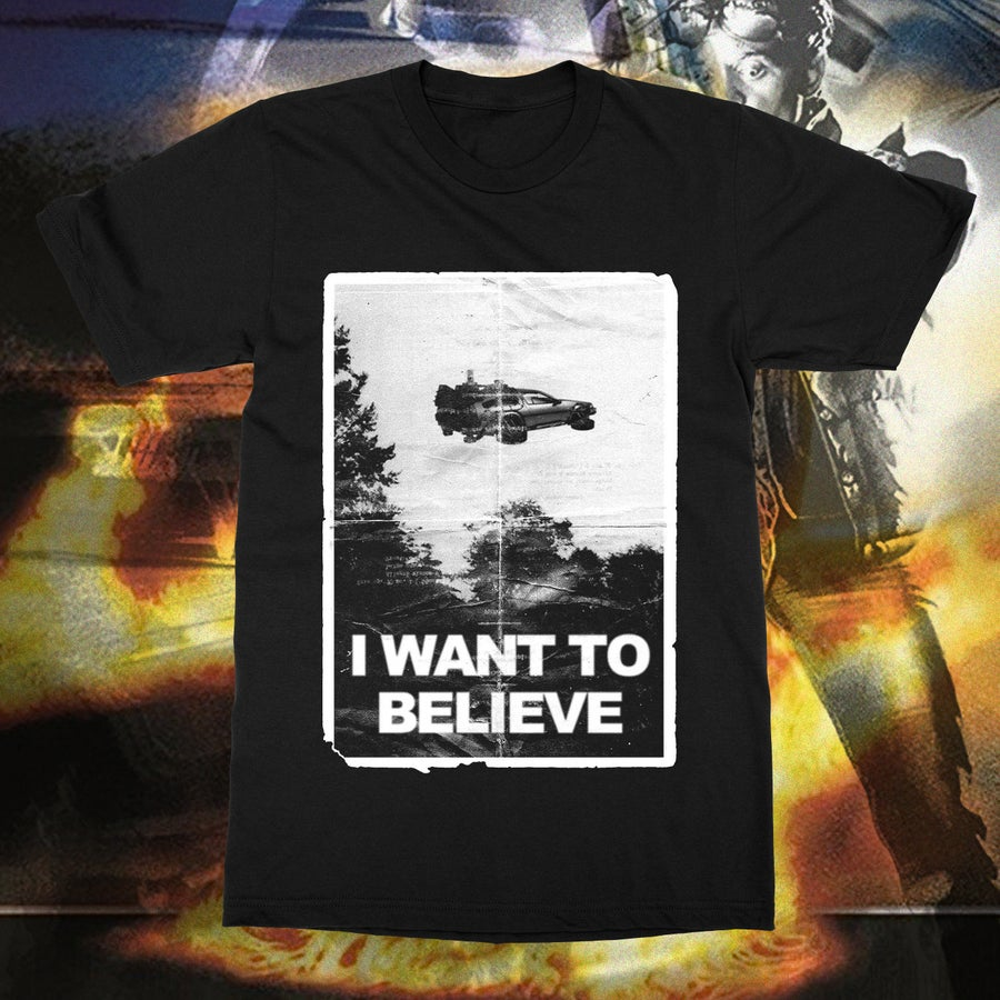 Image of I WANT TO BELIEVE IN TIME TRAVEL